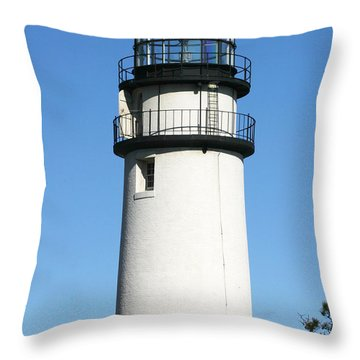 Cape Cod Highland Lighthouse Throw Pillow by Michelle Wiarda