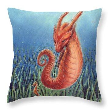 Capricorn Throw Pillow by Samantha Geernaert