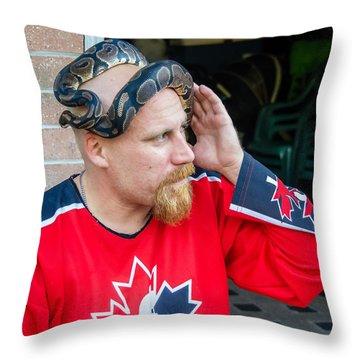 Carnac The Magnificent Lives On  Throw Pillow by Steve Harrington