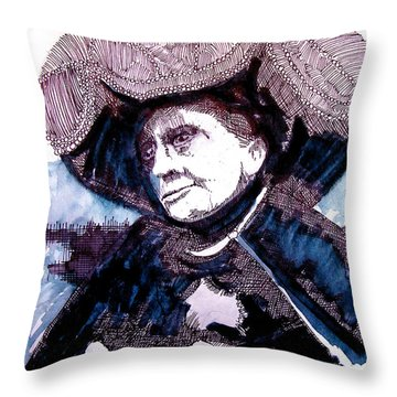 Carnak Tribute To Johnny Carson Throw Pillow by Seth Weaver