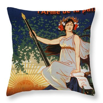 Carry The Ideal Waterman Pen - Throw Pillow by Eugene Oge