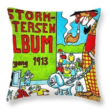 Cartoon 01 Throw Pillow by Svetlana Sewell