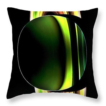Cassini's Phone Throw Pillow by Benjamin Yeager