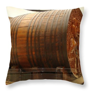Cathedral Of Champagne Throw Pillow by Jeff at JSJ Photography
