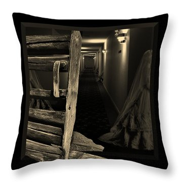Centuries Of Memories Throw Pillow by Barbara St Jean