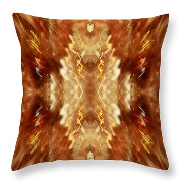 Champagne Party Throw Pillow by Inspired Nature Photography Fine Art Photography