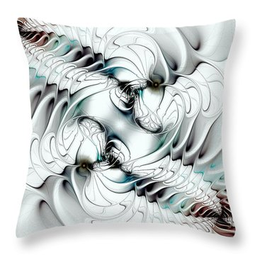 Changing Throw Pillow by Anastasiya Malakhova