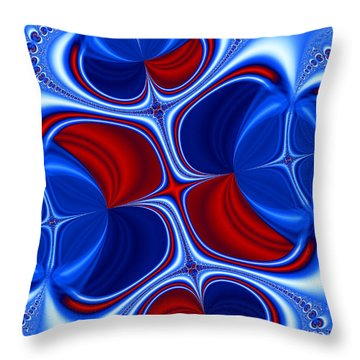 Changing Places Throw Pillow by Ian Mitchell