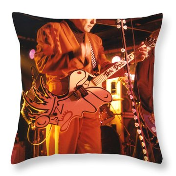 Cheap Trick-93-rick-3 Throw Pillow by Gary Gingrich Galleries