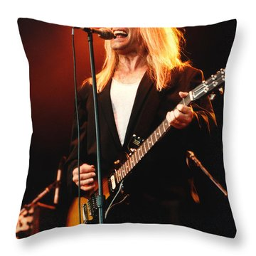 Cheap Trick-95-robin-2 Throw Pillow by Gary Gingrich Galleries