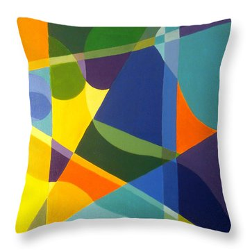 Cheers Throw Pillow by Karyn Robinson