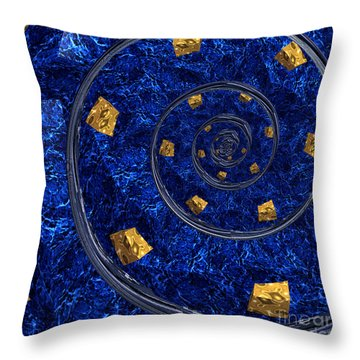 Cheese Sea By Jammer Throw Pillow by First Star Art
