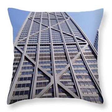 Chicago 1 Throw Pillow by Jennifer E Doll