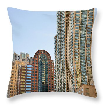 Chicago - Chi-town - Chitown - The City Beautiful Throw Pillow by Christine Till