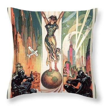 Chicago World's Fair 1933 Throw Pillow by Granger