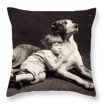 Child C1900 Throw Pillow by Granger