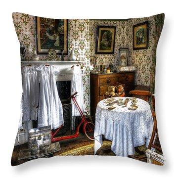 Childrens Room Throw Pillow by Svetlana Sewell