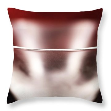 Chilled Throw Pillow by John Rizzuto