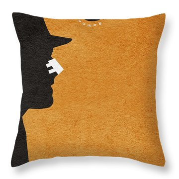 Chinatown Throw Pillow by Ayse Deniz