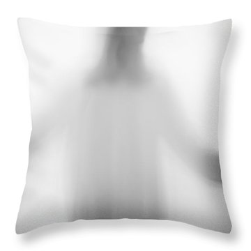 Christian Throw Pillow by Margie Hurwich
