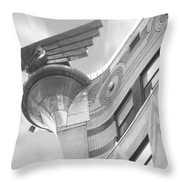 Chrysler Building 4 Throw Pillow by Mike McGlothlen