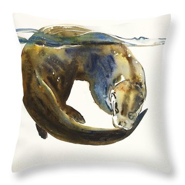 Circle Of Life Throw Pillow by Mark Adlington