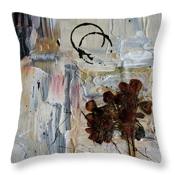 Clafoutis D Emotions - P06at01 Throw Pillow by Variance Collections