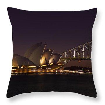 Classic Elegance Throw Pillow by Andrew Paranavitana