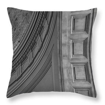 Classical Dome And Vault Detail Throw Pillow by Lynn Palmer