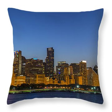 Clear Blue Sky Throw Pillow by Sebastian Musial