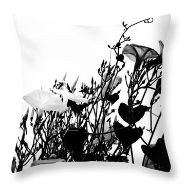 Climbing Forever Throw Pillow by Camille Lopez