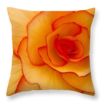 Close To Saturn Throw Pillow by Anne Gilbert