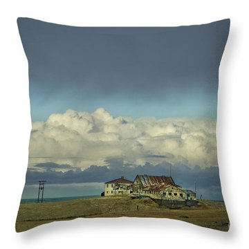 Clouds Of My Mind Throw Pillow by Evelina Kremsdorf