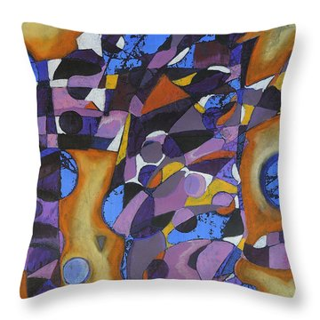 Cold Release Throw Pillow by Mark Jordan