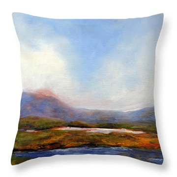 Colin's Place Throw Pillow by Marti Green
