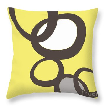 Collecting Stones Throw Pillow by Linda Woods