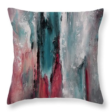 Color Harmony 06 Colored Version 03 Throw Pillow by Emerico Imre Toth