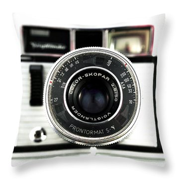 Color Skopar Throw Pillow by John Rizzuto