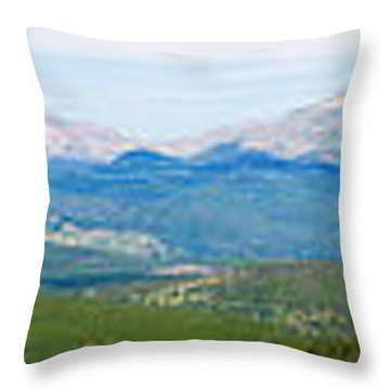 Colorado Continental Divide Panorama Hdr Throw Pillow by James BO  Insogna
