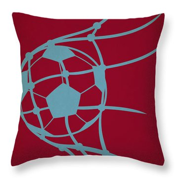 Colorado Rapids Goal Throw Pillow by Joe Hamilton