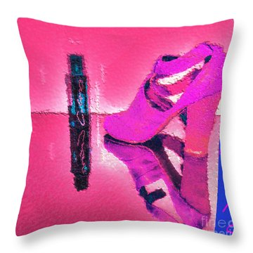 Colors Throw Pillow by Liane Wright
