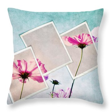 Colors Of Nature Throw Pillow by Angela Doelling AD DESIGN Photo and PhotoArt