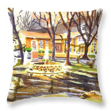 Colors On A Cloudy Day Throw Pillow by Kip DeVore