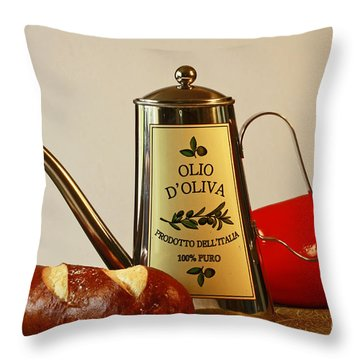 Come Cook With Me Throw Pillow by Inspired Nature Photography Fine Art Photography