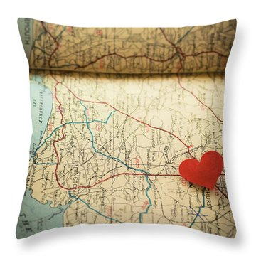 Come Find Me Throw Pillow by Jan Bickerton