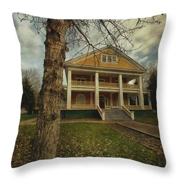 Commissioner's Residence Throw Pillow by Priska Wettstein