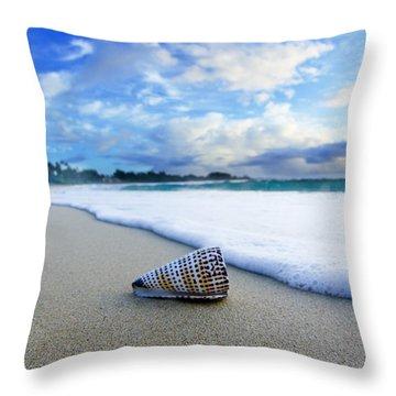 Cone Foam Throw Pillow by Sean Davey