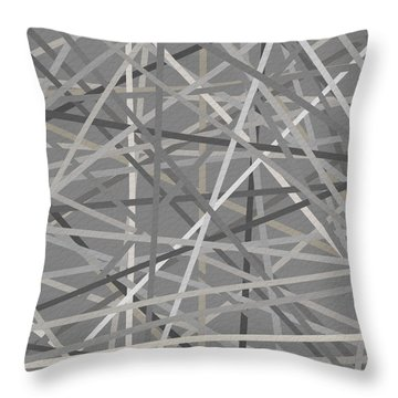 Conjoined Throw Pillow by Lourry Legarde