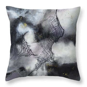 Constellation Throw Pillow by Deborah Ronglien