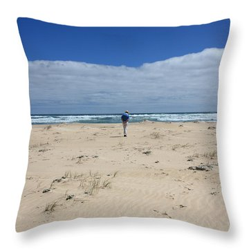 Contemplation Throw Pillow by Elaine Teague